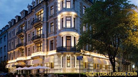 Hotel de alta tecnologia en Suiza