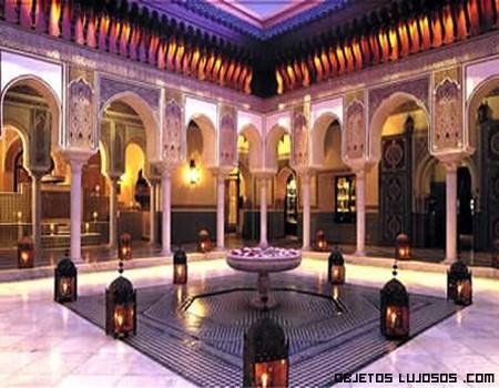 Hotel Mamounia, uno de los más lujosos
