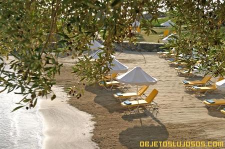 Hotel de lujo a orillas del Mar Egeo