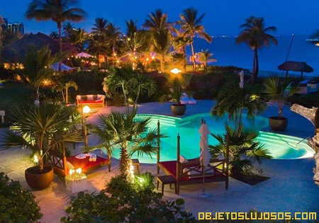 Hotel de lujo en islas del Caribe
