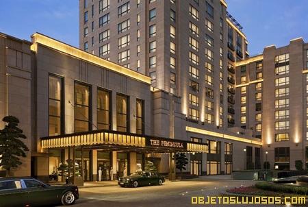 Hoteles de lujo PENINSULA SHANGAI