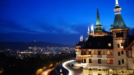 Hoteles de lujo en Suiza DOLDER GRAND