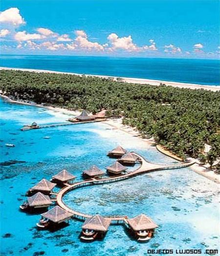 Hotel Kia Ora en el archipiélago Tuamotu