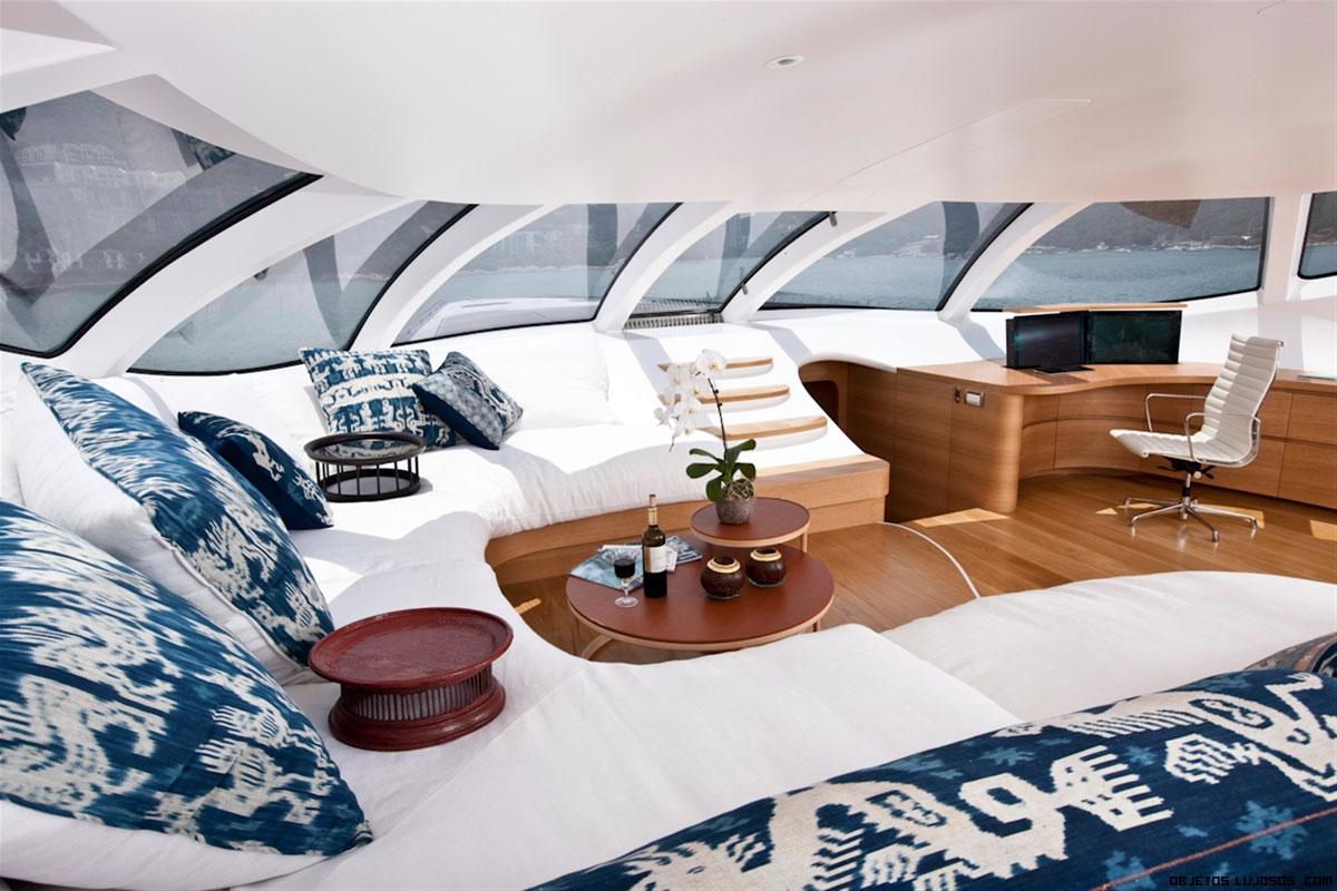 salones lujosos en barcos