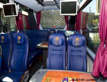 El nuevo autobús del F.C Barcelona