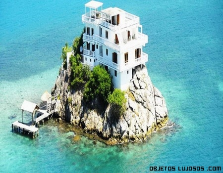 Isla privada de lujo, Dunbar Rock