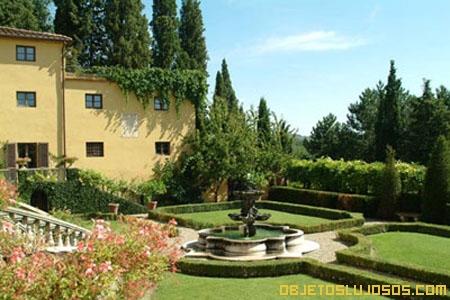 Vacaciones ideales en villa arezzo for Jardines italianos
