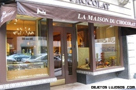 La Maison du Chocolat, una tienda exclusiva