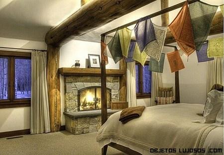 habitaciones rústicas de lujo