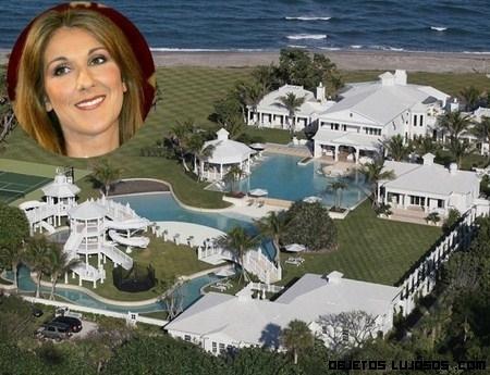 Espectacular mansión de Celine Dion