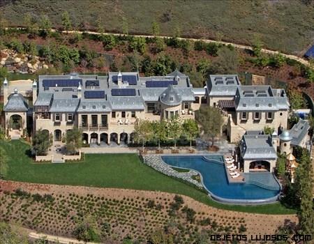 La gran mansión de Gisele Bundchen