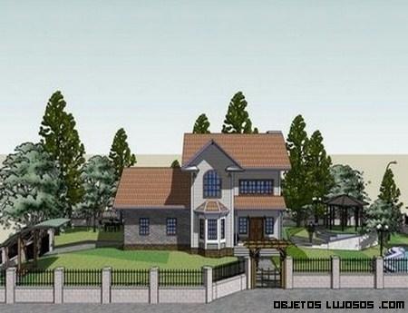 Casas de lujo en 3D
