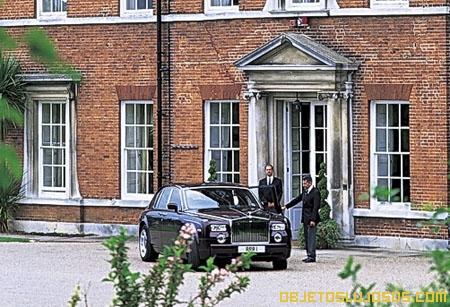Brocket Hall Mansión de lujo en Inglaterra