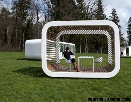 Un hogar modular y prefabricado de lujo