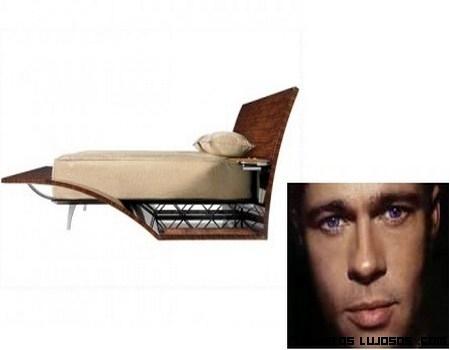 Brad Pitt ahora diseña muebles de lujo