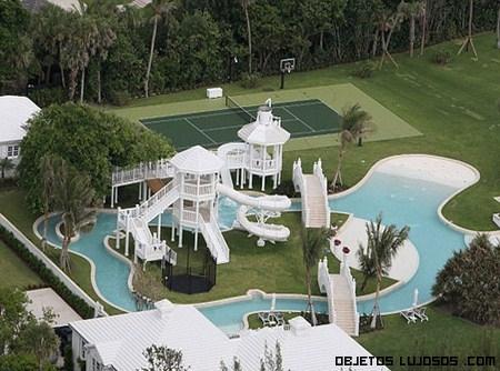 Espectacular mansi n de celine dion for Mansiones con piscina
