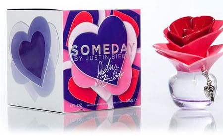 Someday, el perfume de Justin Bieber