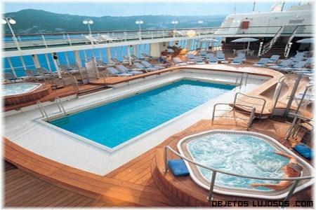 habitaciones de barcos de lujo