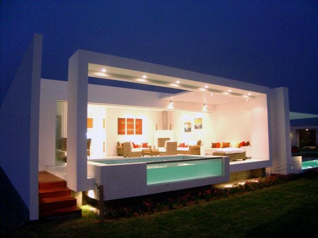 Casas minimalistas con un solo piso