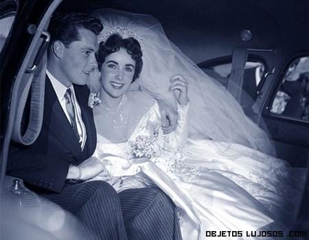 primera boda de Elisabeth Taylor