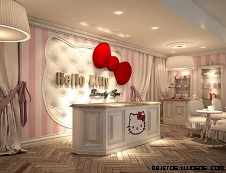 El Spa de Hello Kitty
