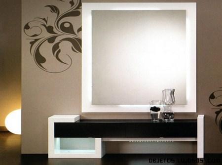 Recibidores de lujo para casas con estilo - Recibidores de casas modernas ...