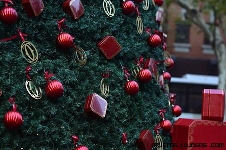 Árbol navideño de Cartier