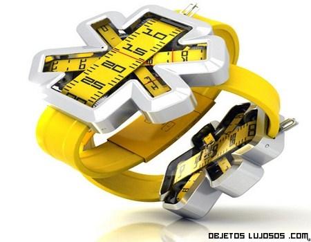 Reloj de estilo y lujo contemporáneo