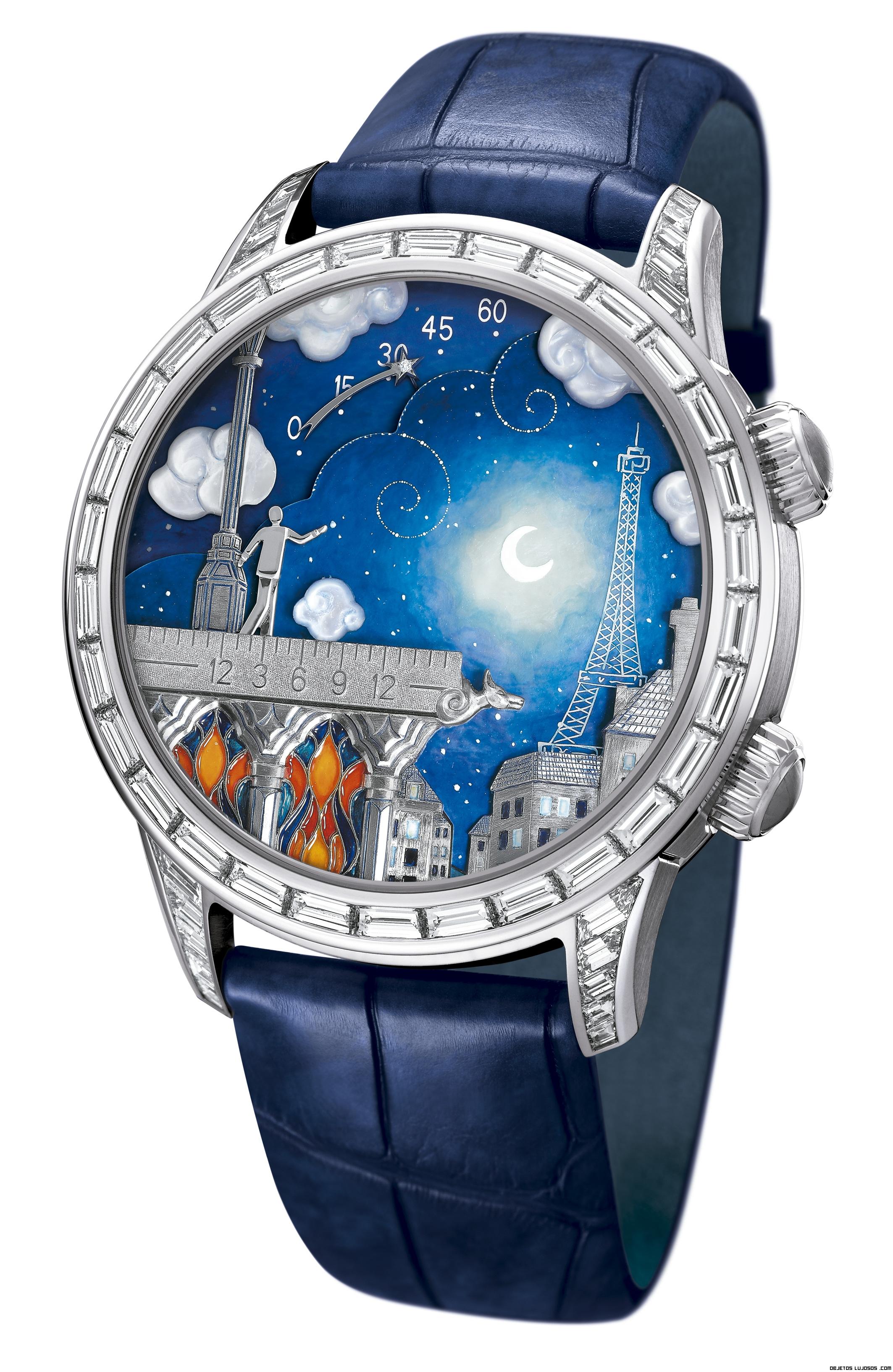 Resultado de imagen de relojes con brillantes