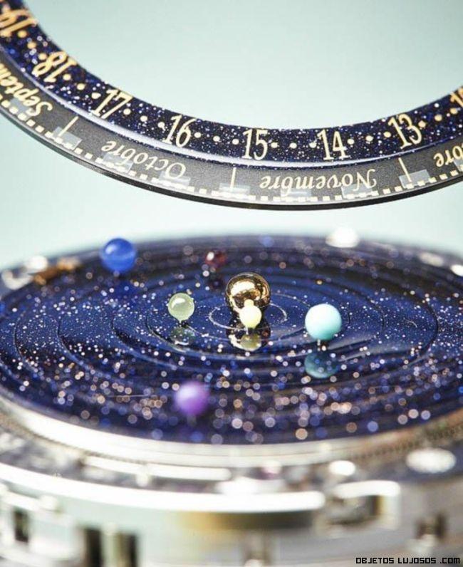 Relojes de oro y piedras preciosas