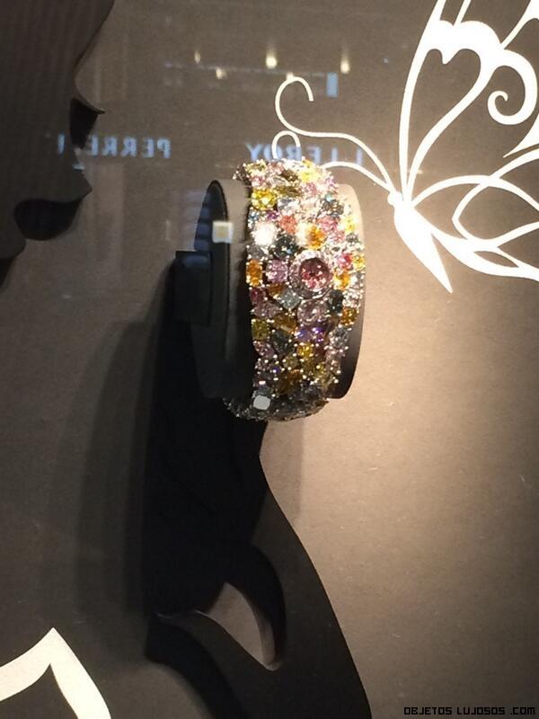 Relojes con pulseras de diamantes