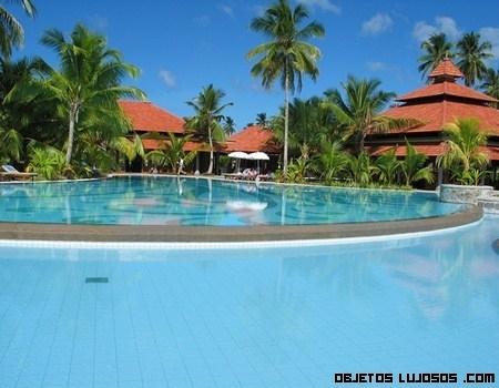 Resort Sainte Anne en las Seychelles