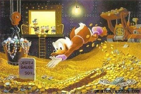 personajes Disney más  ricos