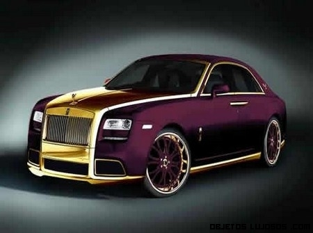 Roll Royce Paris Purple
