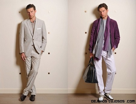 Trajes Brioni para hombres muy elegantes