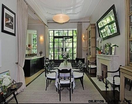 Uma Thurman y su mansión de 5 plantas