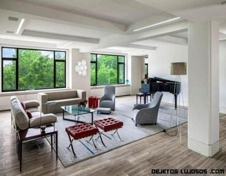 Pep Guardiola y su casa de Nueva York