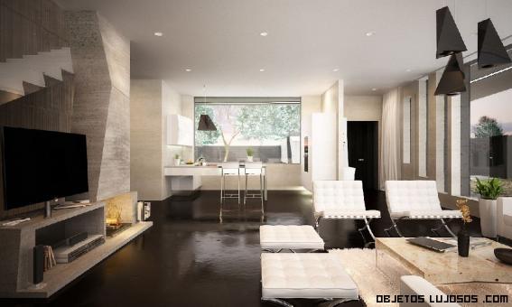 interiores de cemento