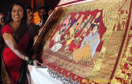 El Sari más caro del mundo