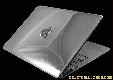 Laptop de platino por Stuart Hughes