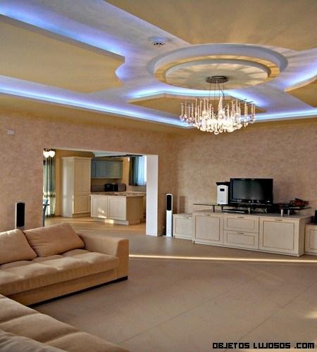Techos con efectos de iluminaci n - Iluminacion de techo ...