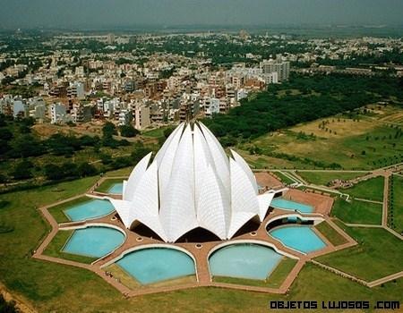 Templo de Loto en la India