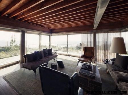 La casa moderna atalaya en california for Cubiertas modernas para terrazas