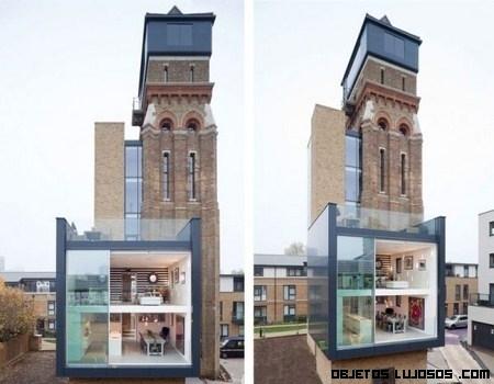 Una vieja torre convertida en casa de lujo
