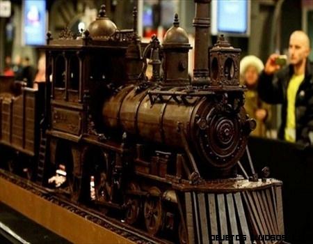 El tren de chocolate más largo del mundo
