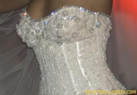 Vestido de novia con diamantes 2
