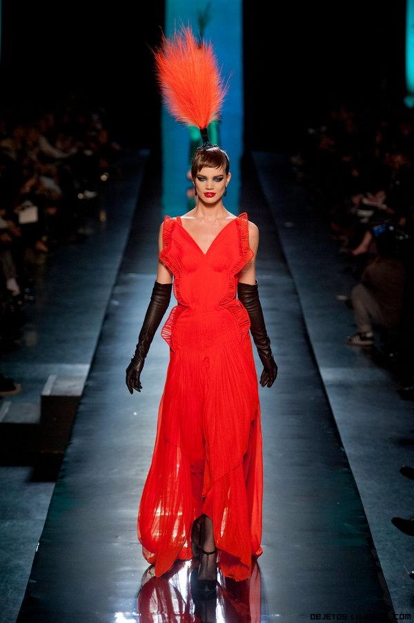 Vestidos desfile semana de la moda en París