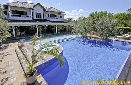 Todo el lujo del Caribe en una villa