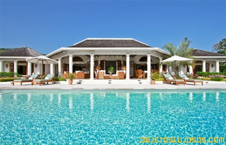 Villa fabulosa en el Mar del Caribe