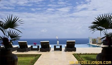 Villa para relajarse en el Caribe